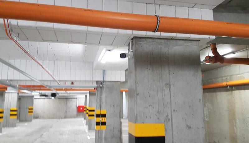 Monitoring garaży podziemnych
