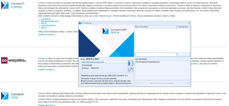 RODO - aktualizacja Comarch ERP